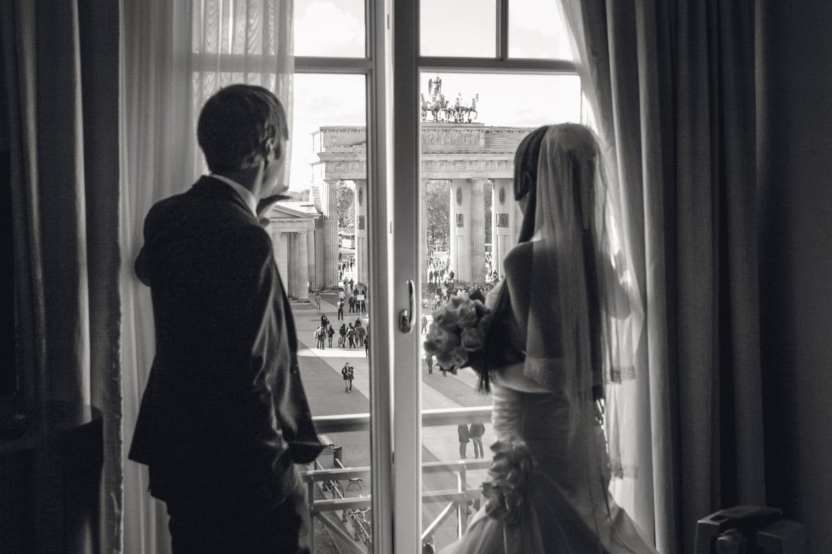 Hochzeitsfotografie Berlin - Hotel Adlon