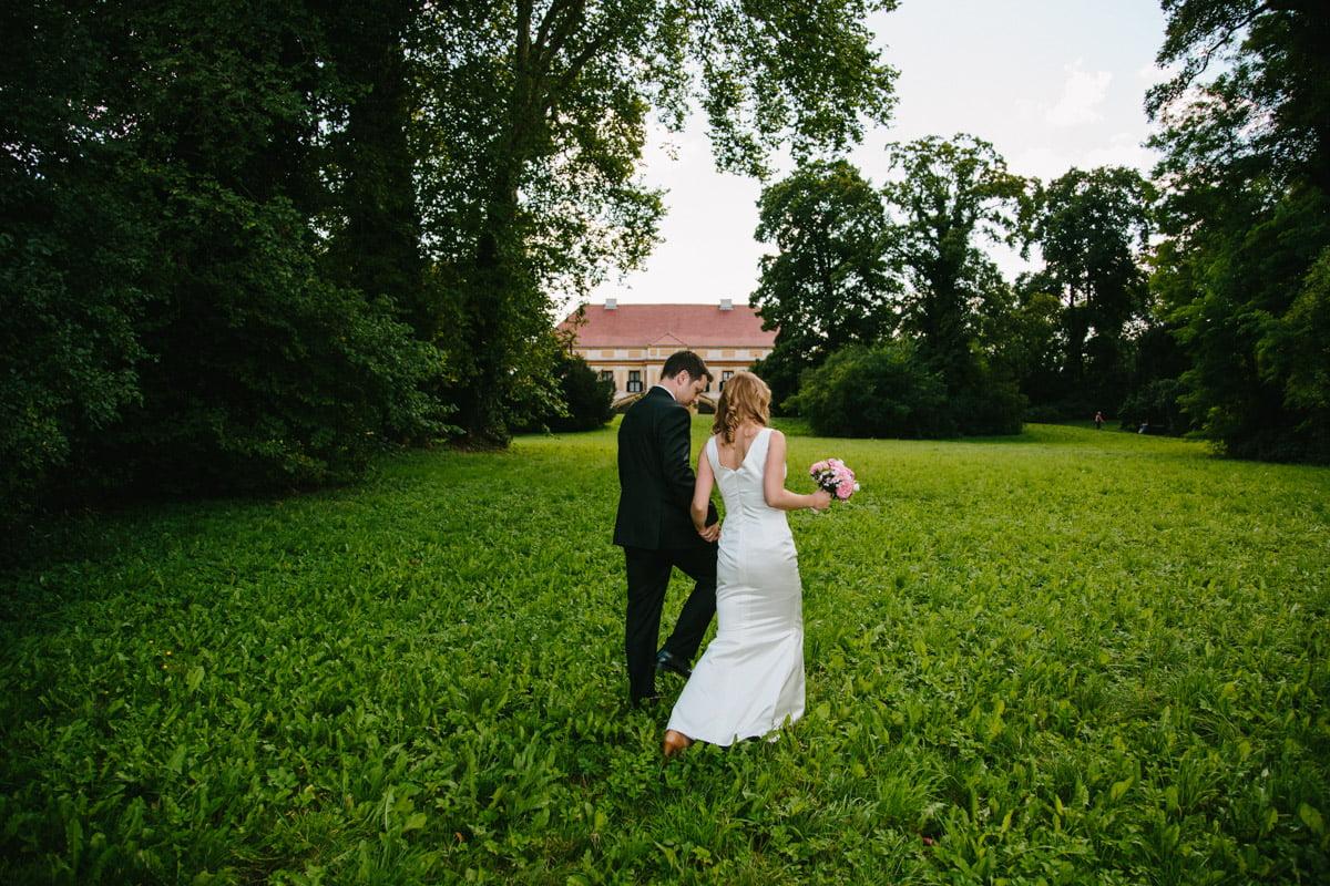 Hochzeitsfotografie Berlin . Trauung im Schloss Caputh